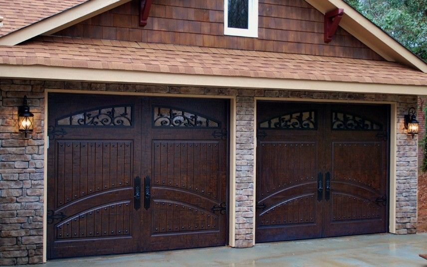 Wood Composite Garage Doors