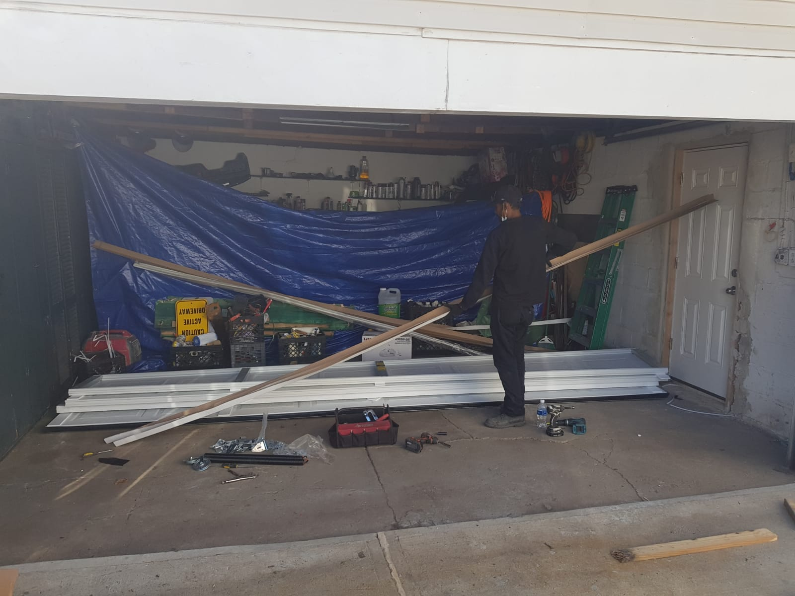 New Garage Doors Installation Banner